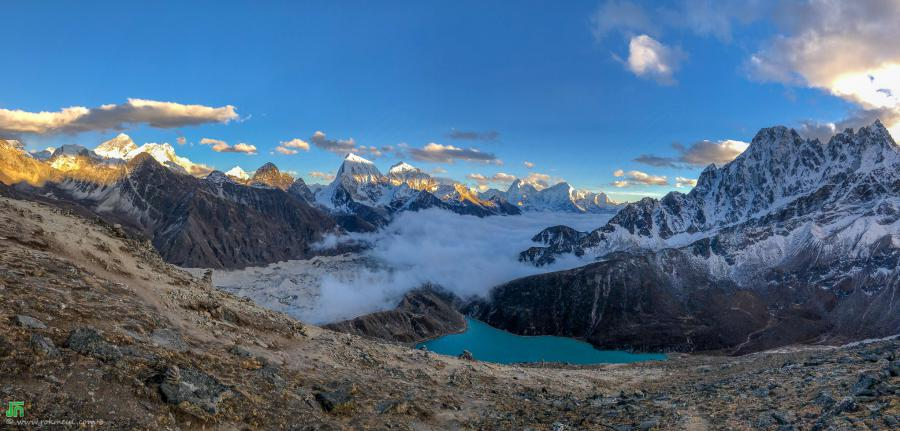 Everest region, view from Gokyo Ri (5340m)